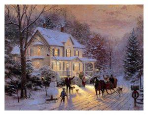 thomas-kinkade-oil-painting-hd-print-on-canvas-art-home-for-the-holiday-18x24-d4401c4c182b569dfbfae59a5f42ed37